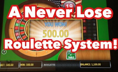 Strategies To Play Roulette